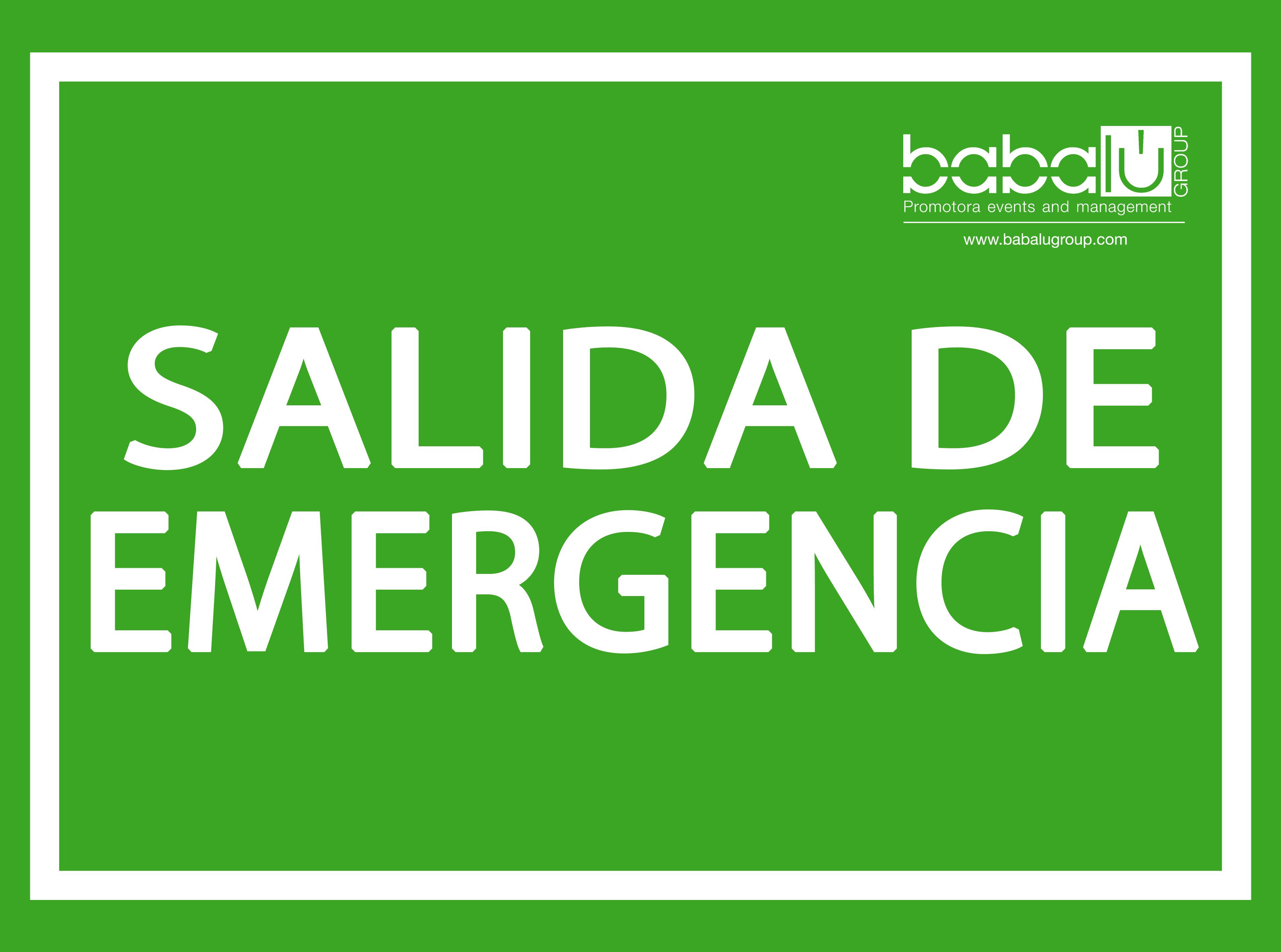 Salidas Emergencia Normativa Salida Emergencia